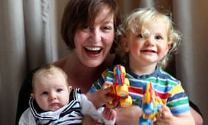 3525aae9df8 Zoe Williams with her children Harper and Thurston. Photograph  Graham  Turner for the Guardian