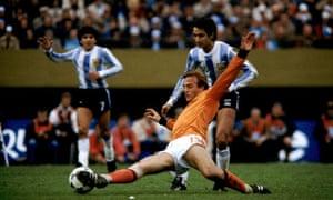 Soccer - World Cup Final - Holland v Argintina