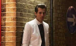 Mark Ronson arrives for the opening of a Gucci store  in Covent Garden London, in April.