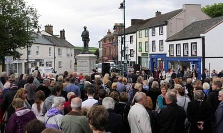 Shooting in Cumbria memorial
