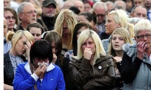 Cumbria memorial service in Egremont