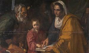 Spanish Painter Diego Velazquez discovered