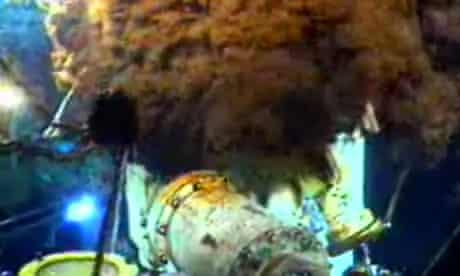 BP gulf oil spill cap