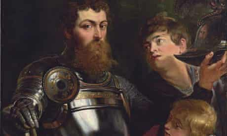 A Commander Being Armed For Battle by Rubens sold for 9 million GBP at Christie's auction