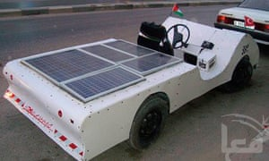 Build A Car From Scratch >> Palestinians Build Solar Car From Scratch Environment