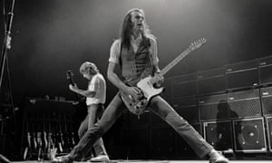 Status Quo's Francis Rossi with his Telecaster