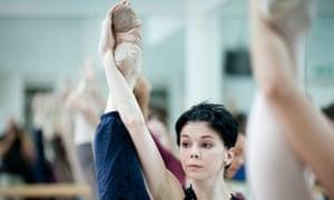 Natalia Osipova one of the principal dancers of the Bolshoi