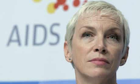 Annie Lennox at the International AIDS Conference