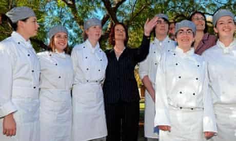 Julia Gillard's TV debate with rival Tony Abbott will be cut short for the Masterchef final