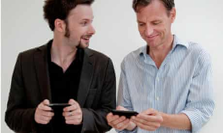 Tim and Andy exchange numbers – best mates for ever?