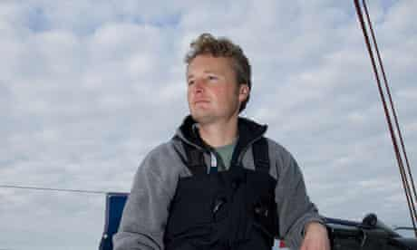Long-distance sailor Steve White