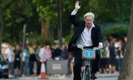 Boris Johnson launches London's cycle hire scheme