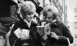 Two women buy copies of DH Lawrence's Lady Chatterley's Lover in 1960