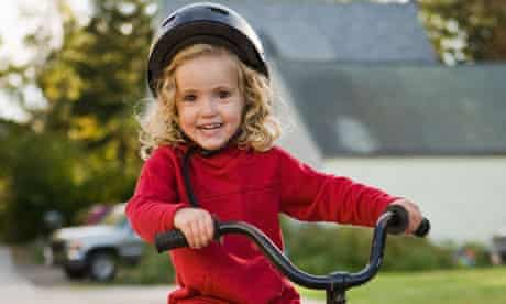 Opinions differ as to when kids can cycle on their own