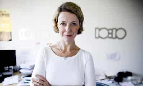 Eugenie Harvey, UK campaign director of 10:10