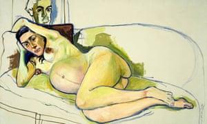 Alice Neel's Pregnant Woman (1971) Alice Neel's Pregnant Woman (1971)