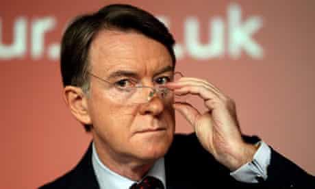 Lord Mandelson speaks