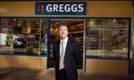 Greggs's chief executive Ken McMeikan