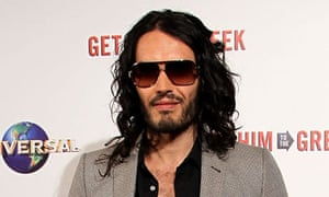 Russell Brand: set to party