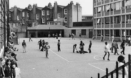 Haverstock school in the 70s