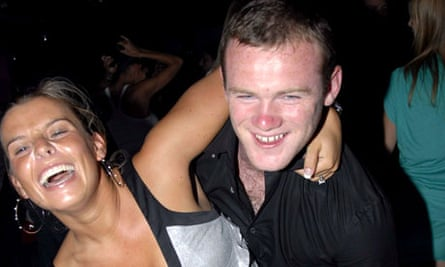Wayne Rooney and Coleen McLoughlin in Cannes, France - 20 Jul 2006