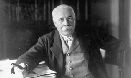 British composer Sir Edward Elgar