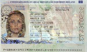 New British passport design announced today