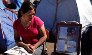 Lilianett Gomez, daughter of trapped Chilean miner Mario Gomez