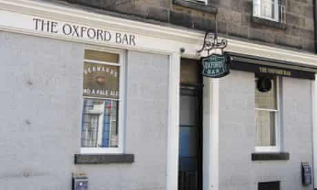 The Oxford Bar in Edinburgh
