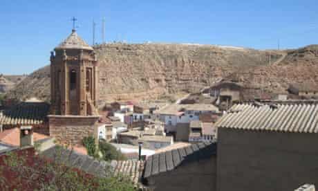 Castelnou in eastern Spain