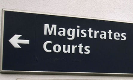 Sign to magistrates court