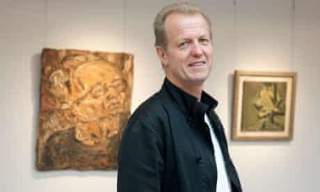 Robert Devereux prepares for the auction of his collection at Sotheby's