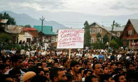 Kashmiris Demonstrate Against Protest Killings
