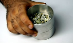 Diamond dealer in Sierra Leone
