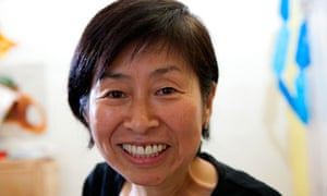 Kazuko Hohki, comedian and member Frank Chickens