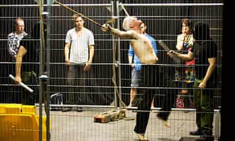 The Cry by the Badac Theatre, where audiences watch a man being tortured for most of the show