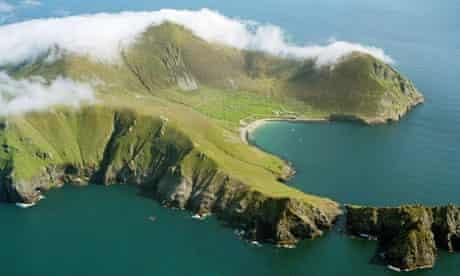 The islands of St Kilda in Scotland