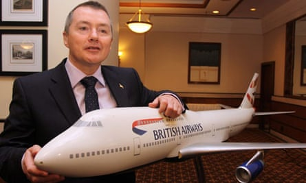 British Airways chief executive Willie Walsh