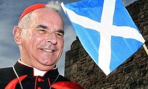 Cardinal Keith O'Brien at Edinburgh Castle