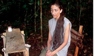 Ingrid Betancourt hostage