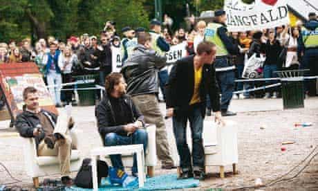 Swedish Political Riots
