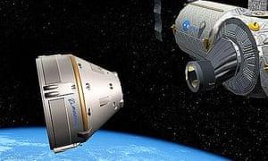 Boeing's new Crew Space Transportation-100 spacecraft