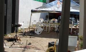 The scene of the 18 July massacre in Torreón