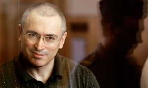 Jailed Russian former oil tycoon Khodorkovsky attends a court session in Moscow