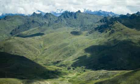 Peru high Andes