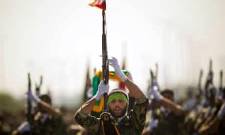 Parade to commemorate anniversary of Iran-Iraq war in Tehran