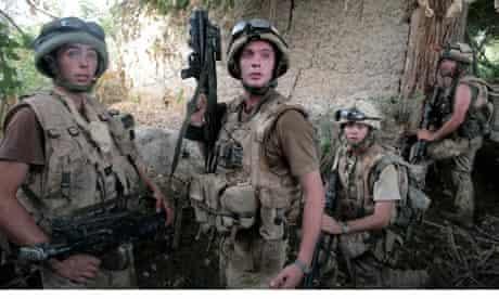 British soldiers in Afghanistan.