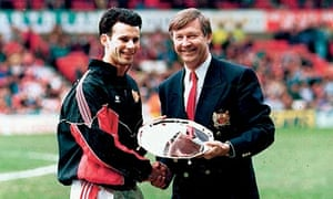 Ryan Giggs and Fergie