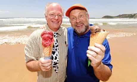 Ben & Jerry's Ice Cream Open Their First Store, Manly Beach, Sydney, Australia - 27 Nov 2009