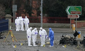 Bomb at Newry courthouse